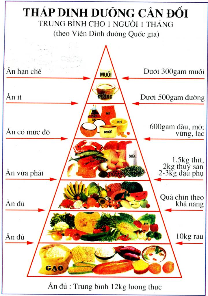 Vấn đề dinh dưỡng cho người bệnh nhược cơ 1
