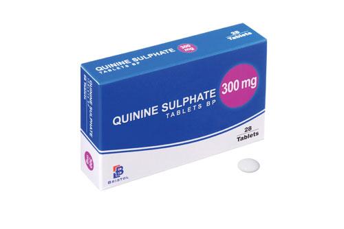 7. Quinine: 1