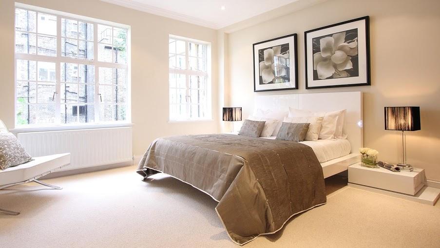 An toàn phòng khách và phòng ngủ cho người bệnh nhược cơ. 1